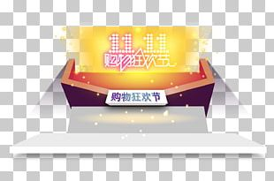 Carnival Singles' Day Shopping Poster PNG