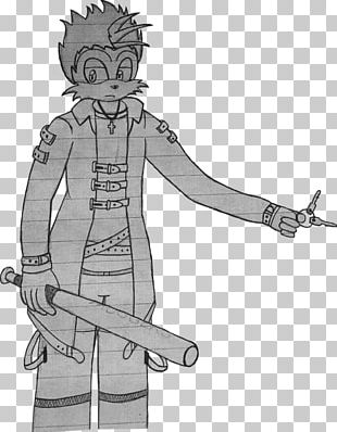 Costume Design Homo Sapiens Character Sketch PNG