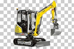 Wacker Neuson Compact Excavator Architectural Engineering Heavy Machinery PNG