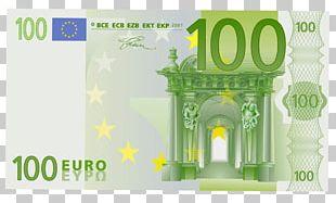 100 Euro Note Banknote 20 Euro Note 50 Euro Note PNG