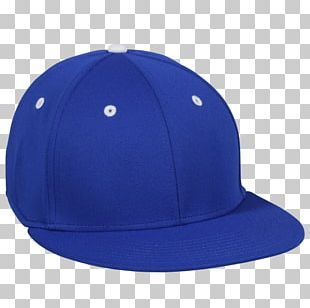 Baseball Cap 59Fifty Blue Hat White PNG
