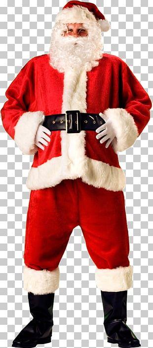 Santa Claus's Reindeer Christmas Gift PNG