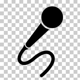 Wireless Microphone Silhouette PNG