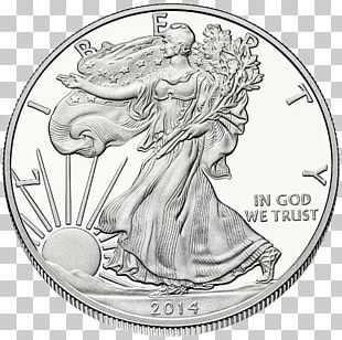 American Silver Eagle United States Mint Bullion Coin PNG