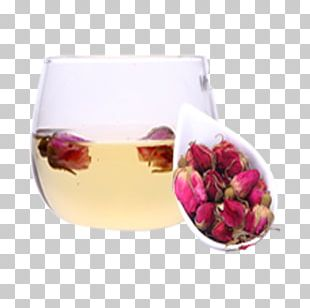 Flowering Tea Beach Rose Rose Hip Green Tea PNG