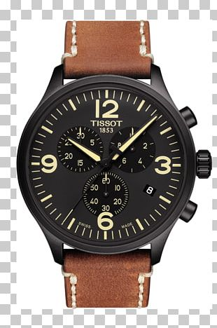 Diving Watch Tissot Watch Strap Chronograph PNG