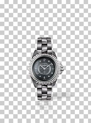 Chanel J12 Watch Quartz Clock Fashion PNG
