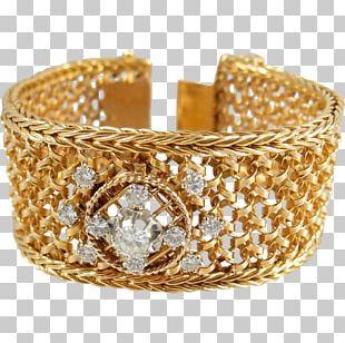 Jewellery Bracelet Gold Bangle Diamond PNG