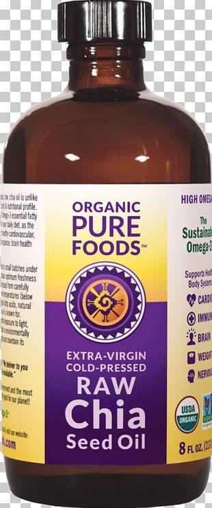 Raw Foodism Organic Food Chia Seed Seed Oil PNG