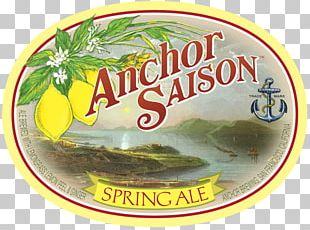 Anchor Brewing Company India Pale Ale Beer Saison PNG