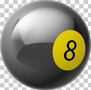 Billiards Billiard Ball Eight-ball Icon PNG