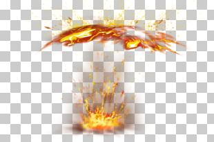 Fire Light Flame Explosion PNG
