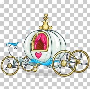Cinderella Carriage Pumpkin PNG