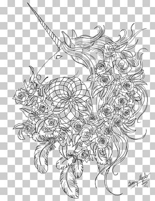 Horse Line Art Visual Arts Sketch PNG