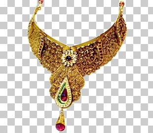 Jewellery Necklace Gold Jewelry Design PNG