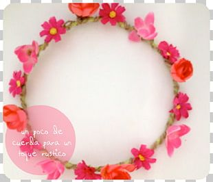 Wreath Flower Crown Garland Petal PNG