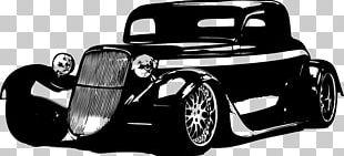 Vintage Car Automotive Design Hot Rod PNG
