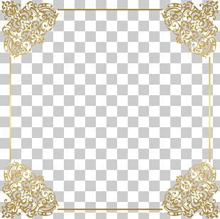 Gold Frame Frame PNG