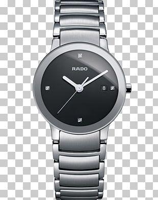 Rado Centrix Diamonds Quartz Watch Quartz Clock PNG