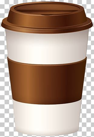 Iced Coffee Latte Tea Coffee Cup PNG