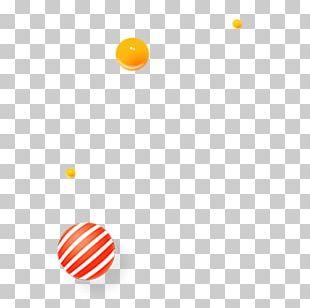 Color Splash Computer Orange PNG