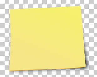 Post-it Note Paper PNG