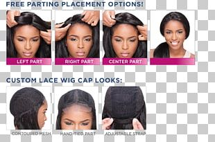 Hair Coloring Long Hair Lace Wig Artificial Hair Integrations PNG