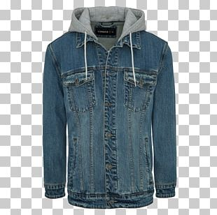 Hoodie Denim T-shirt Jacket Clothing PNG