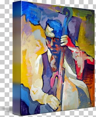Modern Art Acrylic Paint Watercolor Painting Still Life PNG