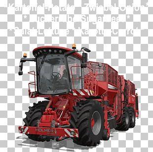 Farming Simulator 17 Tractor Case IH Combine Harvester Machine PNG