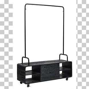 Furniture Clothes Hanger Cloakroom Wood Colgador Con Cajones PNG