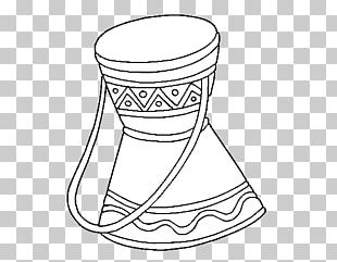 Colouring Pages Coloring Book Djembe Drum Musical Instruments PNG