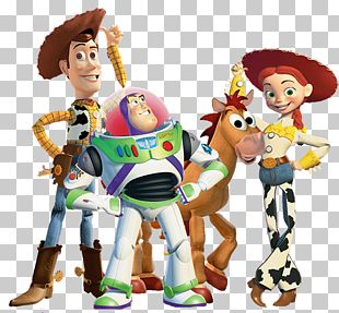 Jessie Buzz Lightyear Sheriff Woody Toy Story PNG