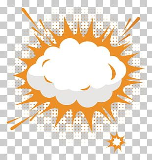 Explosion Text Box Cloud PNG