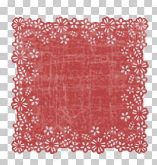 Doily Place Mats Textile Rectangle PNG