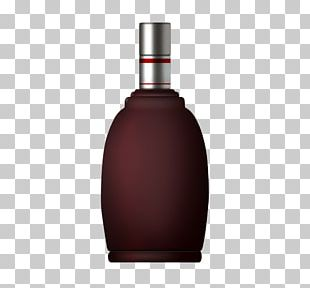 White Wine Rice Wine Bottle PNG