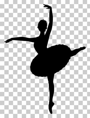 Ballet Silhouette School Timetable Shoe PNG