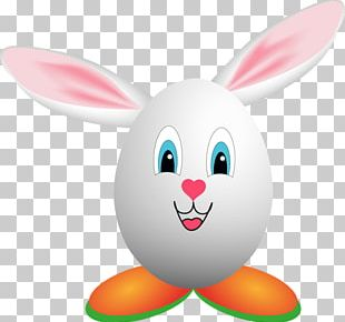 Domestic Rabbit Easter Bunny Easter Egg PNG