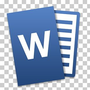 Microsoft Word Microsoft Office 2016 Word Processor PNG