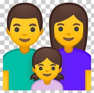 Emoji Emoticon Smiley Family Computer Icons PNG