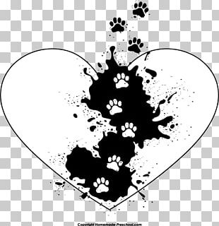 Heart Paw Tiger PNG
