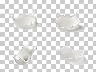Milk Drop Splash PNG