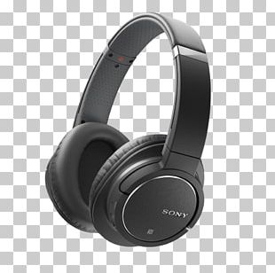 Microphone Noise-cancelling Headphones Sony ZX770BN Active Noise Control PNG