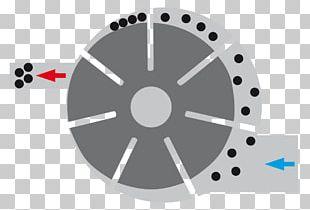 Compressor GHH Rand Compressed Air Aggregat Wheel PNG