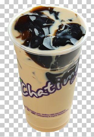 Hong Kong-style Milk Tea Juice Grass Jelly Bubble Tea PNG