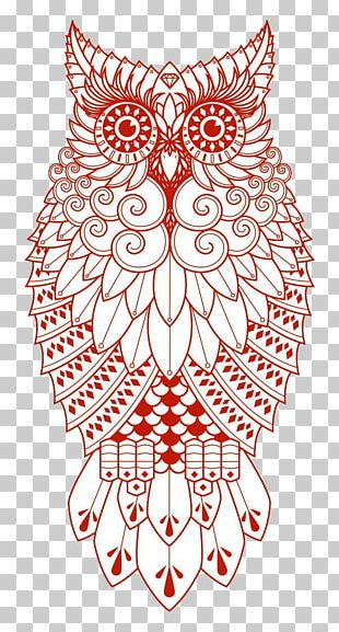 Owl Drawing Tattoo PNG