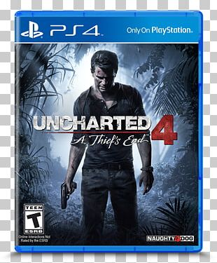 Uncharted 4: A Thief's End Uncharted 3: Drake's Deception Uncharted: Drake's Fortune Nathan Drake PlayStation 4 PNG