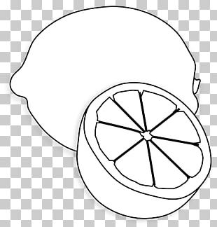 Lemon Juice Black And White PNG
