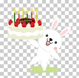 Birthday Cake Christmas Cake Rabbit Shortcake PNG