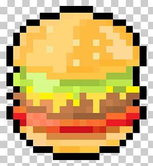 Pixel Art Hamburger Png Clipart Art Brand Burger